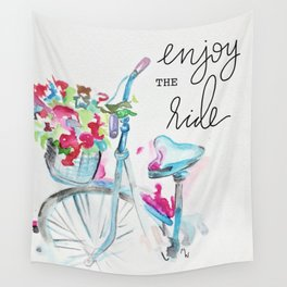 Enjoy the Ride - Bike Wall Tapestry