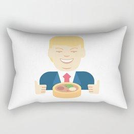 Trumpation - Best Taco Bowl Rectangular Pillow