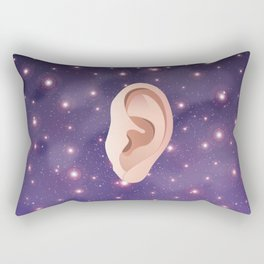 Ear in Universe Rectangular Pillow