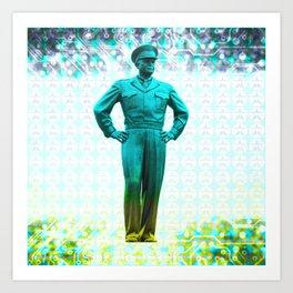 general, Eisenhower Art Print