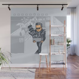 The Terminated Wall Mural