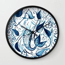 Zeemeermin Wall Clock
