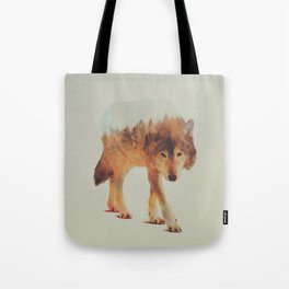 Wolf In The Woods #2 Tote Bag