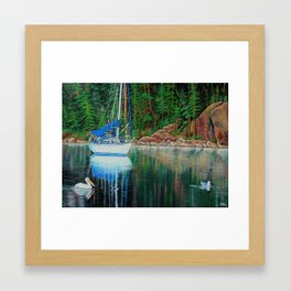 """The Beauty of nature"" Framed Art Print"