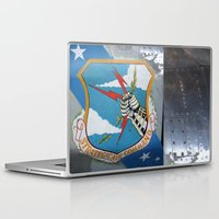 putin Laptop & iPad Skins featuring Strategic Air Command - SAC by Andrea Jean Clausen - andreajeanco