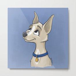 Cute Chihuahua Metal Print