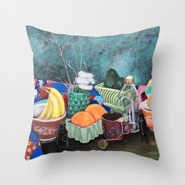 Nanny's Quilt Throw Pillow