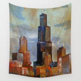 Sears Tower Wall Tapestry