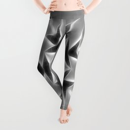 Gray Kaleidoscope Art 20 Leggings