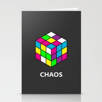 chaos Stationery Cards featuring Chaos by Dizzy Moments