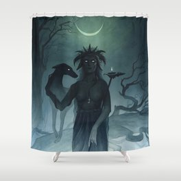 Hecate ~ A Compendium of Witches Shower Curtain
