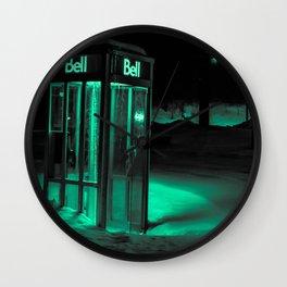 Cold Call Wall Clock