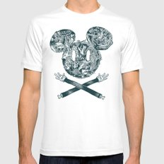 The Mouse Mens Fitted Tee MEDIUM White