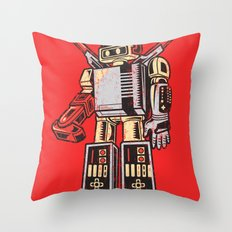 Nestron Throw Pillow