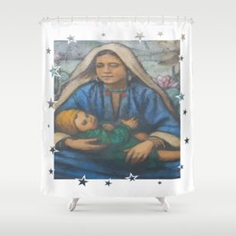 Mother and Child 2 Shower Curtain