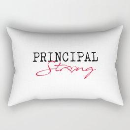 Principal Strong School Rectangular Pillow