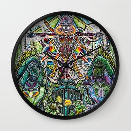 Sorgen and the Keepers of the Garden Wall Clock