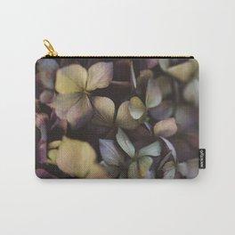Pale purple hydrangea pattern Carry-All Pouch