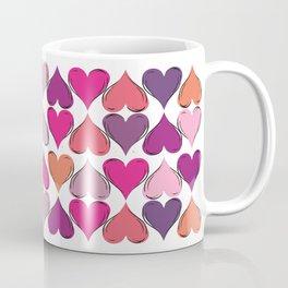 colerfull hearts Coffee Mug