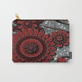 Red Glistens in Crystal  Carry-All Pouch
