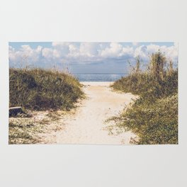 The Beach Path Rug