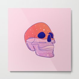 Skull Metal Print