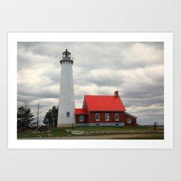 Lighthouse - Tawas Point, Michigan 2010 Art Print