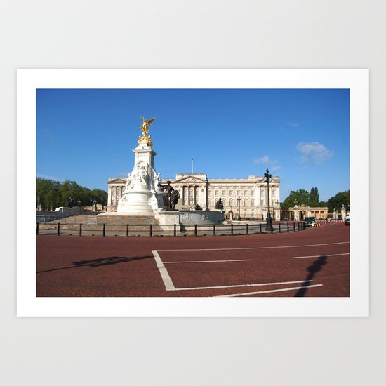 Buckingham Palace 3 Art Print