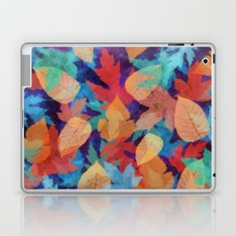 Colorful fallen leaves Laptop & iPad Skin