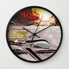 Remote Wham! Wall Clock