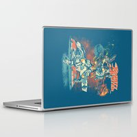 stickers Laptop & iPad Skins featuring BOUNTY HUNTER by BeastWreck
