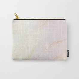 Abstract summer blush pink yellow whey pattern Carry-All Pouch
