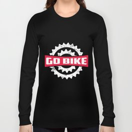 Go Bike Long Sleeve T-shirt