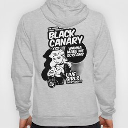 Ladies of DC - Black Canary Hoody