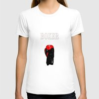 boxer T-shirts featuring Boxer by Louis Arthur