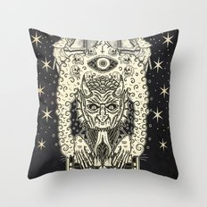 The Final Dance With The Devil Throw Pillow
