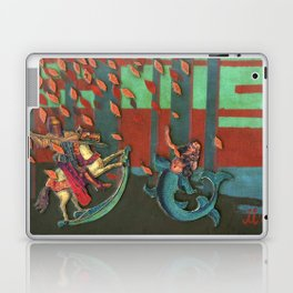 The Knight and the Mermaid Laptop & iPad Skin