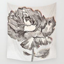 ROSE TOO Wall Tapestry