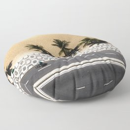 Ipanema From Above Floor Pillow
