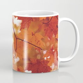 Fluttering from the Autumn tree Coffee Mug