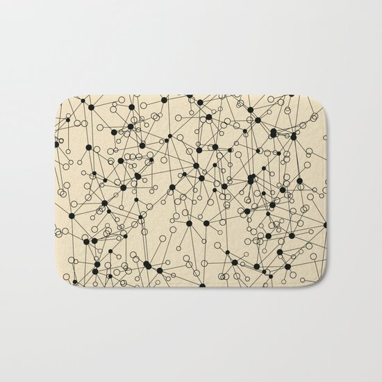 Stars sky map Bath Mat