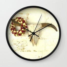 Mounted Wall Clock