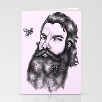 gandalf Stationery Cards featuring Yung Gandalf by Jessica Petrylak