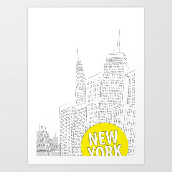 New York, New York Art Print