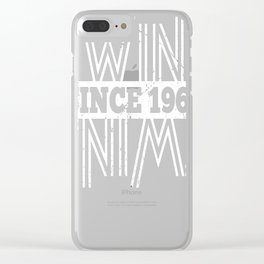 Twins-Since-1968---49th-Birthday-Gifts Clear iPhone Case