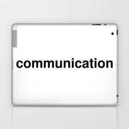 communication Laptop & iPad Skin