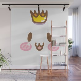 001 : Rabbity face Wall Mural