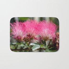 Pink Flower Burst Bath Mat