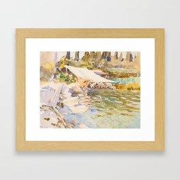 "John Singer Sargent ""Lake Garda"" Framed Art Print"