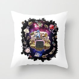 Regular Show lost in Universe Throw Pillow